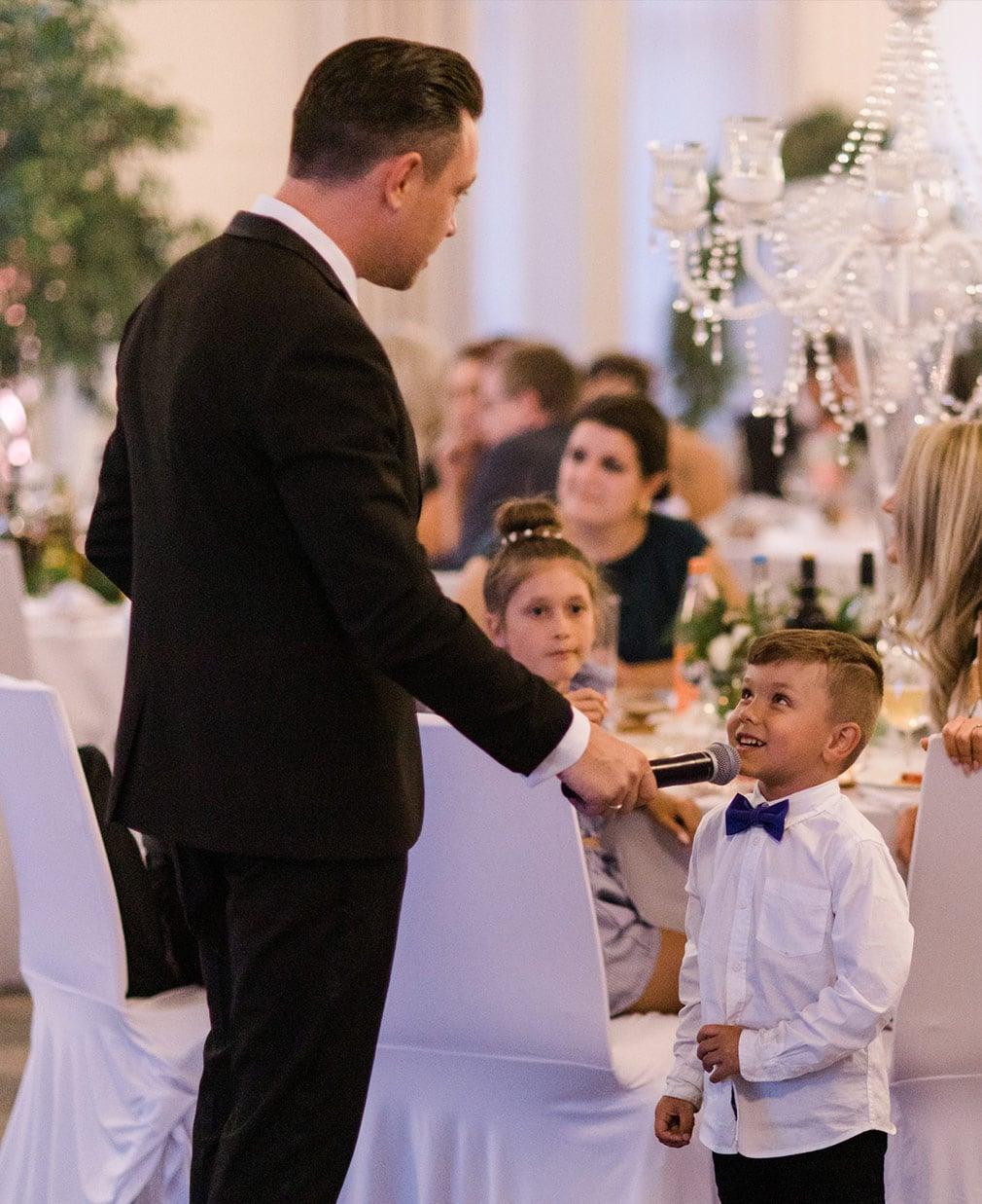 Hochzeitsmoderator-Dimitro